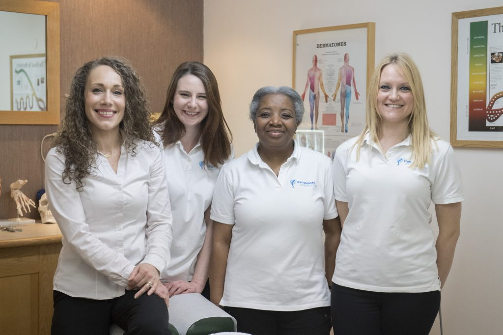 Hampstead Chiropractic Reception Team